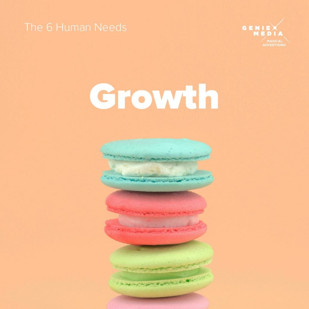 The 6 human needs - growth