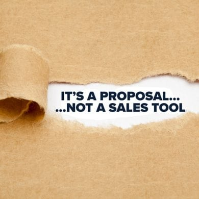 The number 1 mistake business people make with proposals